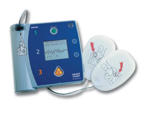 AED training on all First Aid at Work courses